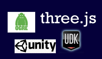 Unity 3D、Three.js&OGRE浅析